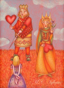 12-Alice-queen and king
